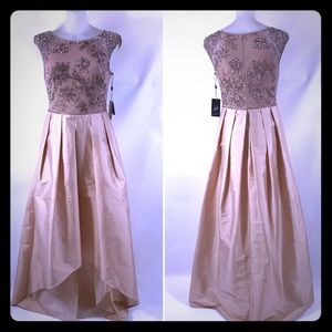 ADRIANNA PAPELL 🔸NWT🔸 Blush Prom Formal Gown